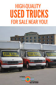 Find High Quality Used Box Trucks For Sale Near You! Whether You're ...