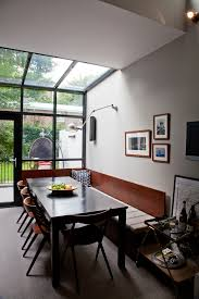 How To Build A Built In Bench Seat Dining Room Contemporary With Black Table Kitchen Seating