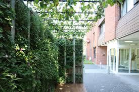 temporäres grünes wohnzimmer in der stadt helix pflanzen