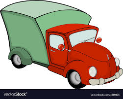 100 Trucks Cartoon Delivery Truck Cartoon Royalty Free Vector Image
