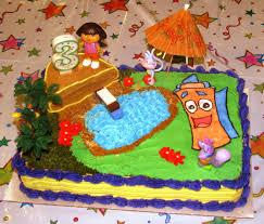 Dora The Explorer Kitchen Set Walmart by Dora Birthday Cakes With Cupcakes At Sams U2014 Wow Pictures