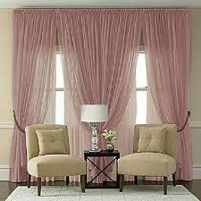 Plum Batiste Curtain Panel