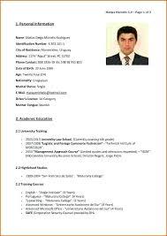 Resume In English Sample Teacher Position