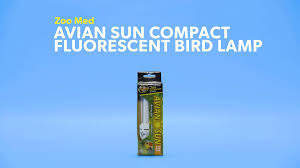 zoo med avian sun compact fluorescent bird l 26 watt chewy