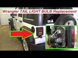 jeep wrangler jk light bulb replacement brake light bulb turn