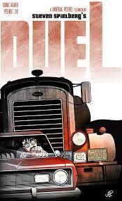 100 Duel Truck Driver Steven Spielbergs Poster By UriAdrianodeviantartcom On