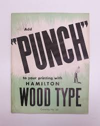 Wood Type Specimen Catalog CoverType PostersDesign