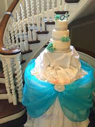 Baby Blue Cake Table Wedding Sunnybrook