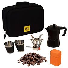 Compact Portable Coffee Maker Kit For Lovers Camping Gear Gourmet Set Hiking