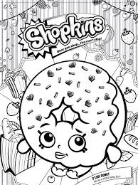Pin Drawn Dougnut Coloring Page 9