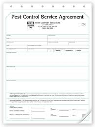 Pest Control Contract - Service Agreements - 129 By Deluxe