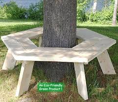 will help you make a tree bench in your garden and get to use the