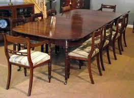 Mahogany Dining Room Set Of Four Chairs