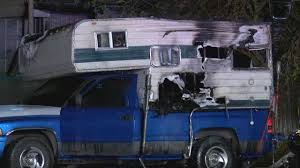 100 Camper Truck Bed In Truck Bed Catches Fire In Toxic Wings Parking Lot