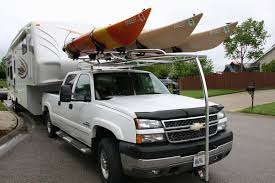Custom Aluminum Kayak Rack For A Chevy Truck Ryderracks With Regard ... Over Cab Truck Kayak Rack Cosmecol With Regard To Fifth Wheel Best Roof Racks The Buyers Guide To 2018 Canoekayak For Your Taco Tacoma World Cap Kayakcanoe Full Size Wtonneau Backcountry Post Yakima Trucks Bradshomefurnishings Build Your Own Low Cost Pickup Canoe Wilderness Systems Finally On The Prinsu 16 Apex 3 Ladder Steel Sidemount Utility Discount Ramps Expert Installation Howdy Ya Dewit Easy Homemade And Lumber