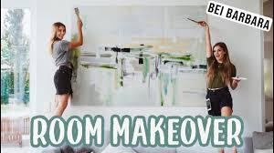 malen mit barbara sofie leinwand wohnzimmer room makeover teil 7 i mjette