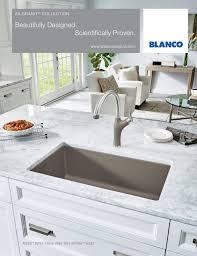 Blanco Silgranit Sinks Colors by Blanco 2016 Silgranit Brochure By Blanco Issuu