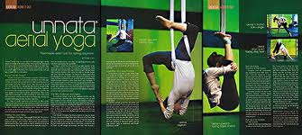Unnata Aerial Yoga Featured In American Fitness Magazine