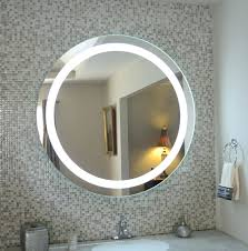 wall mirrors lighted makeup mirror wall mounted in dimmable
