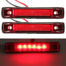 2Pcs 6 LED Clearance Side Marker Light Indicator Lamp Truck Trailer ... Mengs 1pair 05w Waterproof Led Side Marker Light For Most Buses Universal Surface Mount For Truck Amberred 2018 4x Led Fender Bed Lights Smoked Lens Amber Redfor 130 Boreman V 112 13032018 American 2pcs 6 Clearance Indicator Lamp Trailer 4pack X 2 Peaktow Round Submersible United Pacific Industries Commercial Truck Division 1ea Of An Arrow B52 55101 Amber Marker Lights Parts World 4 X 8led Side Marker Lights Clearance Lamp Red Amber Trailer Best Quality 5x Teardrop Style Cab Roof 2pcs Yellowred Car