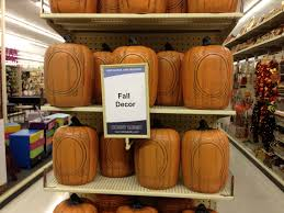 Fake Carvable Plastic Pumpkins by Fourth Of July Shopping Only To Find Halloween Nostalgic