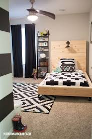 Bedroom Redo For A Growing Toddler Boy Transition From Crib To Twin Bed