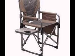 Cabelas Folding Camp Chairs by Directors Chairs With Folding Side Table Youtube