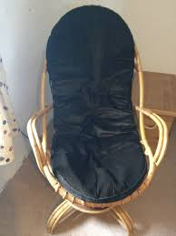 Vintage Retro Bamboo Swivel Rocking Chair Angraves Invincible | In Truro,  Cornwall | Gumtree