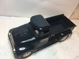 1950's Vintage Tonka Toys Side Step Pick-up Truck - Dark Blue -Older ...