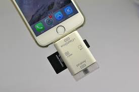 With the new 16 GB memory 3 in 1 USB SD card reader for iphone 5 5