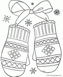 Phone Coloring January Pages For Preschool On Winter Sheets And Pictures