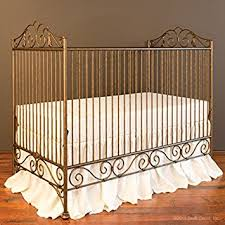 amazon com bratt decor casablanca crib vintage gold baby