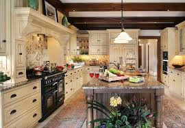 KitchenExcellent Traditional Kitchen Inspiration With Large White Painted Wood Cabinet And Black Modern