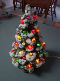 Ebay Christmas Trees With Lights by Vintage Ceramic Lighted Christmas Tree Holland Mold And Maker