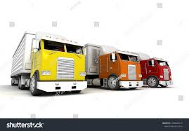 100 White Freightliner Trucks Royalty Free Stock Illustration Of Logistics Concept Group American