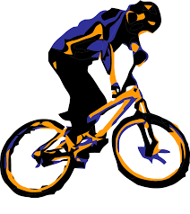 1057x1185 Mountain Bike Clipart