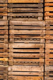 Download Stack Of Old Wooden Pallets For Background Stock Image