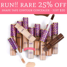 RUN! RARE 25% Off Shape Tape Contour Concealer - Just $20 ... Who Sells Tarte Cosmetics Nisen Sushi Commack Sephora Black Friday 2019 Ad Deals And Sales Boxycharm Coupons Hello Subscription Where Can You Buy How To Get Printable Coupons Tarte Cosmetics Canada Friends Family Event Continues Birchbox Coupon Codes Stacking Hack Ads Doorbusters 2018 Buffalo Bills Casino Coupon Codes White Barn 10 Off Code For Muaontcheap Code Promo Photomagnetfr First Time Roadie Paleoethics Manufacturer From California