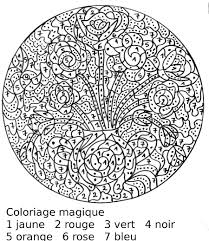 Coloriage Magique Adulte Noel Laborde Yves