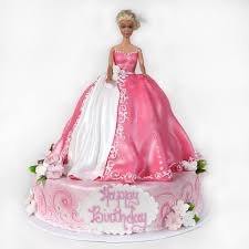 Princess Cake Made With Vanilla Sponge And Decorated With Vanilla