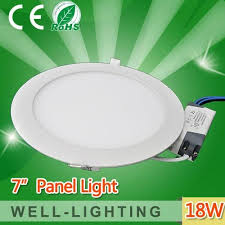 18wbright led recessed ceiling panel light bulb l 7inch