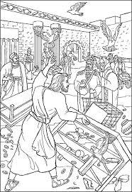 Jezus Reinigt De Tempel Tempelreiniging Free PuzzleBible