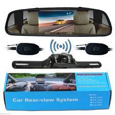 100 Best Backup Camera For Trucks 43 Car TFT LCD Monitor MirrorWireless Reverse Car Rear View