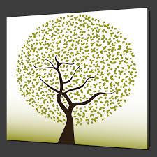 Simple Modern Art Tree