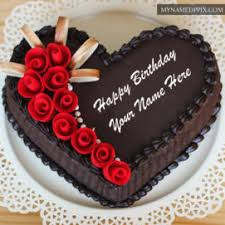 Chocolate Yummy Happy Birthday Cake Name Edit s