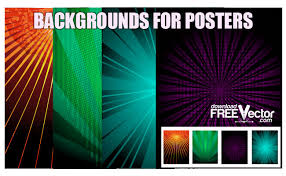 Party Poster Background Art