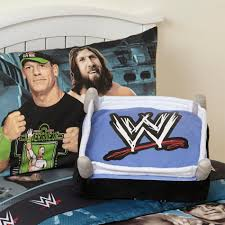 Wwe Wrestling Room Decor by Wwe Cuddle Pillow