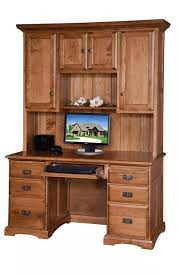 55 computer desk with hutch from dutchcrafters amish furniture