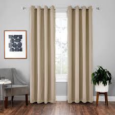 vorhänge 2er 175x140cm hxb beige blickdicht thermo für wohnzimmer schlafzimmer kinderzimmer