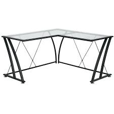 desk l shaped glass desk target l glass desk l shaped glass top